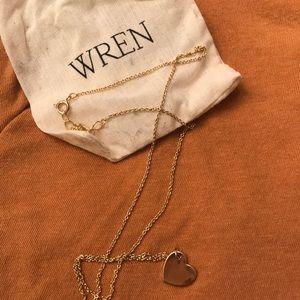 Wren Jewelry | Gold Heart Pendant
